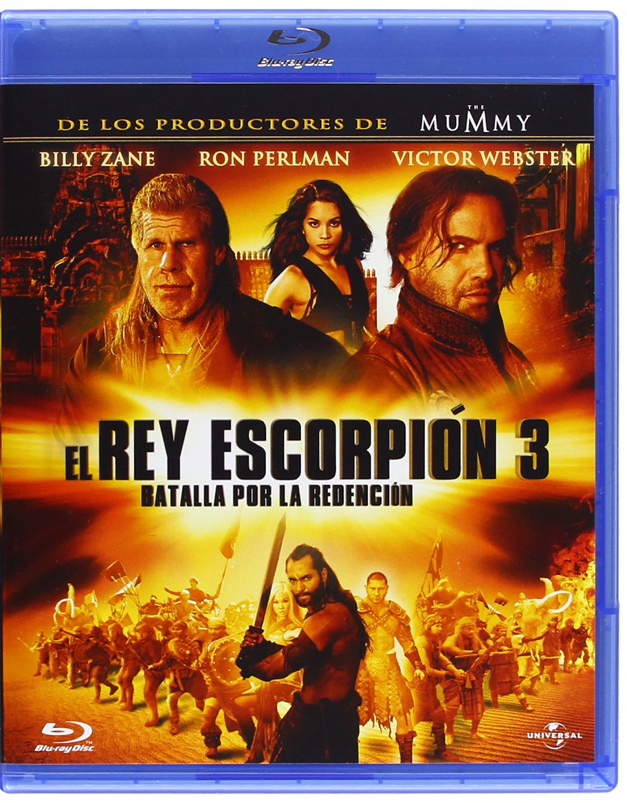 El Rey Escorpion 3 [Blu-ray]: Amazon.es: Webster, Victor ...