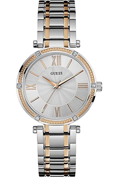 GUESS W0636L1,Ladies Dress Elegant,Stainless Steel case & Bracelet,Two Tones,