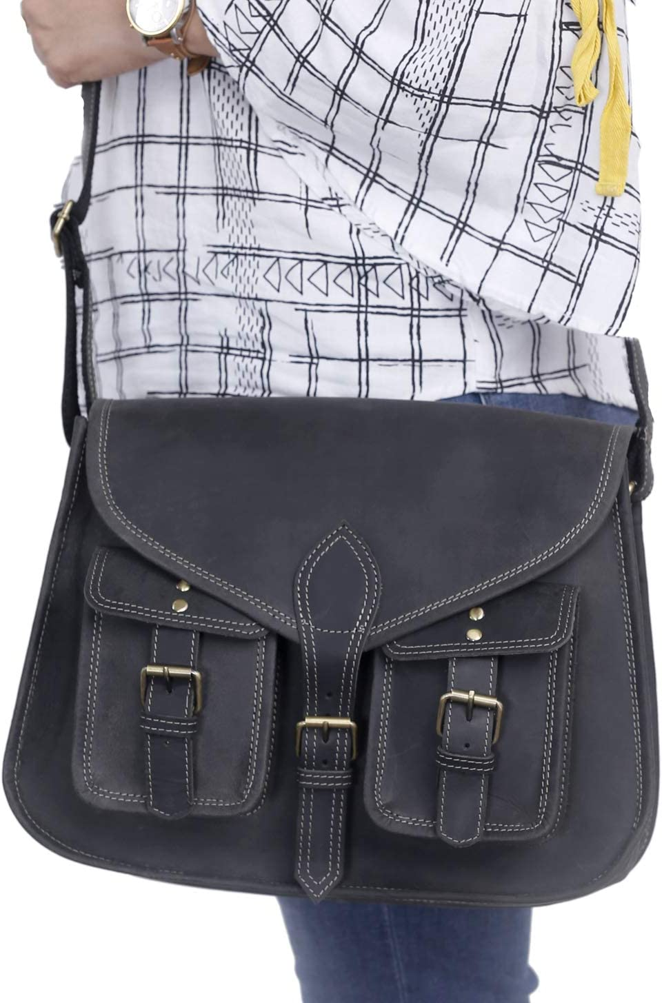 1 PCS Adjustable Black  Coffee  Camel PU leather Shoulder Bag Purse  Messenger Bag Purse  Tote Strap with Bronze Lobster Clasp