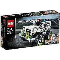 Lego 42047 - Technic - Jeu de construction - La Voiture d'intervention de Police