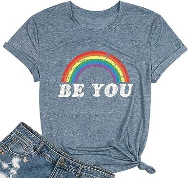 Love Wins Rainbow T-Shirt LGBT Gay Pride *FREE SHIPPING WORLDWIDE*