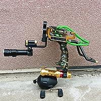 HBG Archery Fishing Slingshot Kit Hunting Professional...