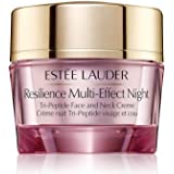 Estee Lauder Resilience Multi-Effect Night Tri-Peptide Face and Neck Creme, 1 oz / 30 ml, Full Size Unboxed