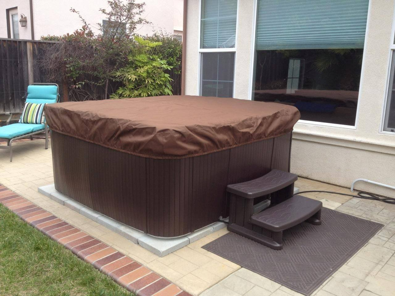 Amazon.com: SPA Hot Tub covercap Tapa encargo fabricado en ...