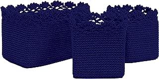 product image for Heritage Lace Mode Crochet Bskt Set/3 W/Trim