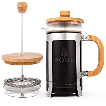 Pour French Press Coffee Maker
