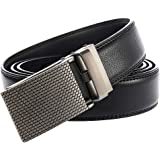 Mens Belt Width 3.1cm Leather Ratchet Dress Belt For Men With Elegant Gift Box
