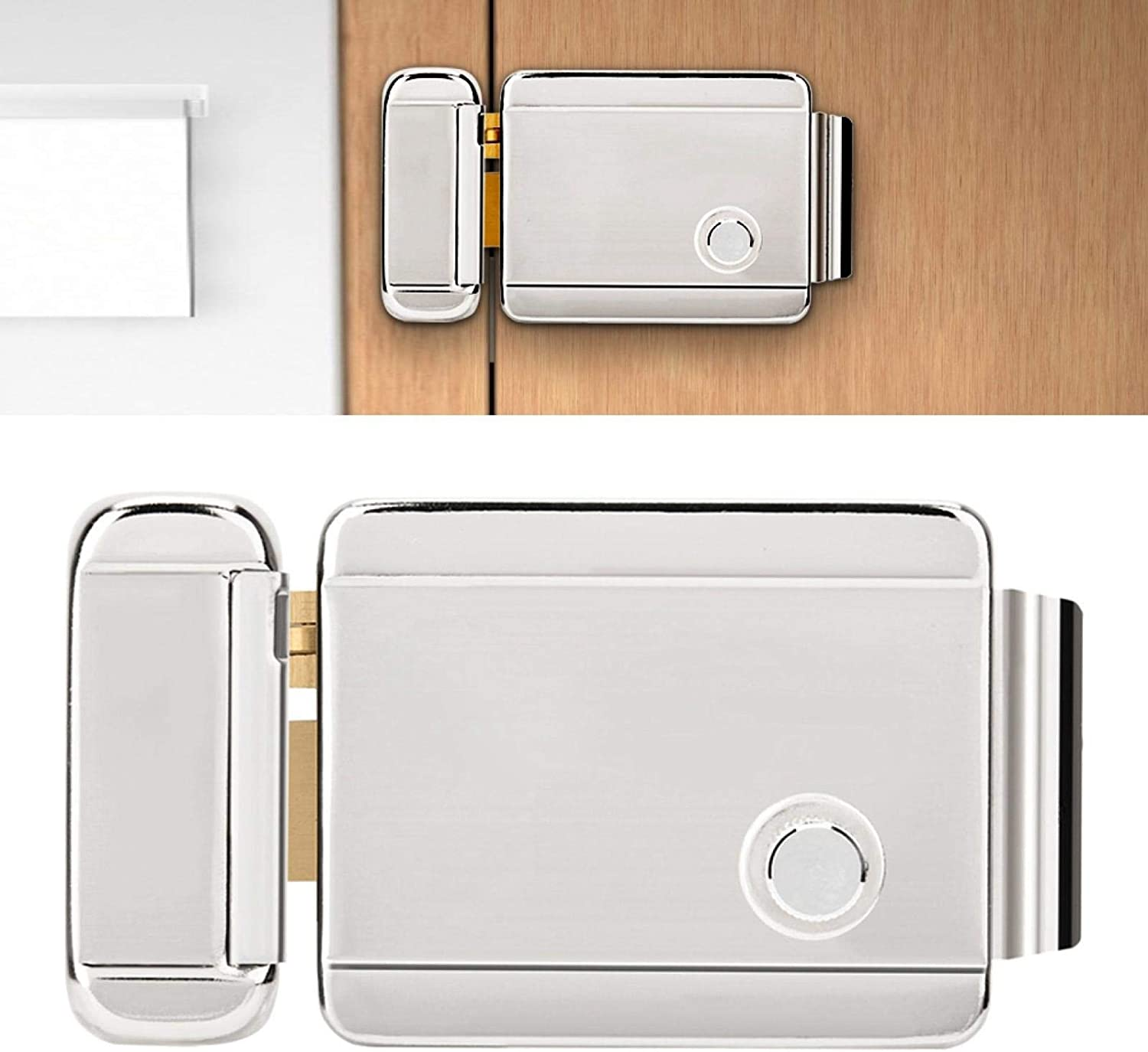 for Hotels Warehouses Intelligent Single Cylinder,Access Control Lock Electric Control Lock