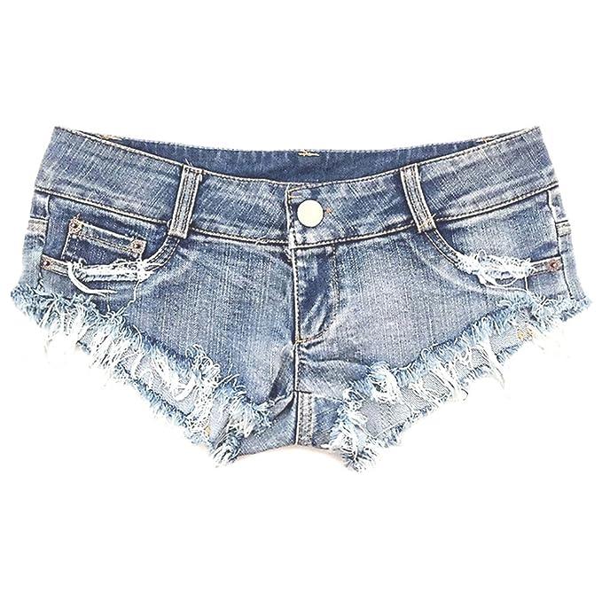 73841fcf85f3 NW Women's Low Waist Sexy Denim Short Hot Pants Sexy Mini Jeans Shorts ( Small)
