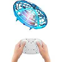 BlueFire Mini Drone for Kids, Hand Operated Drone Flying Ball Indoor Helicopter Ball with Remote Control, Flying UFO…
