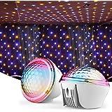 Proyector Estrellas, De Dormir luz nocturna infantil y 4 Modos Iluminación Proyector Estrellas Romántica luz de la Noche…