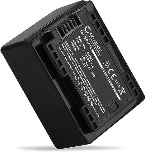 Infochip Battery 2400mAh for Canon Legria HF R38 HF R606