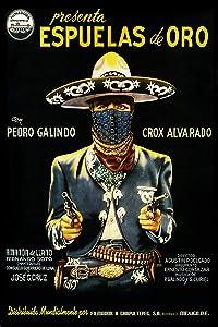 - Espuelas de Oro Vintage Mexican Cinema Movie Poster - 24x36