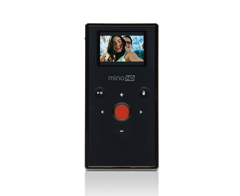 Amazon.com : Flip MinoHD Video Camera - Black, 4 GB, 1 Hour (1st  Generation) : Camcorders : Camera & Photo