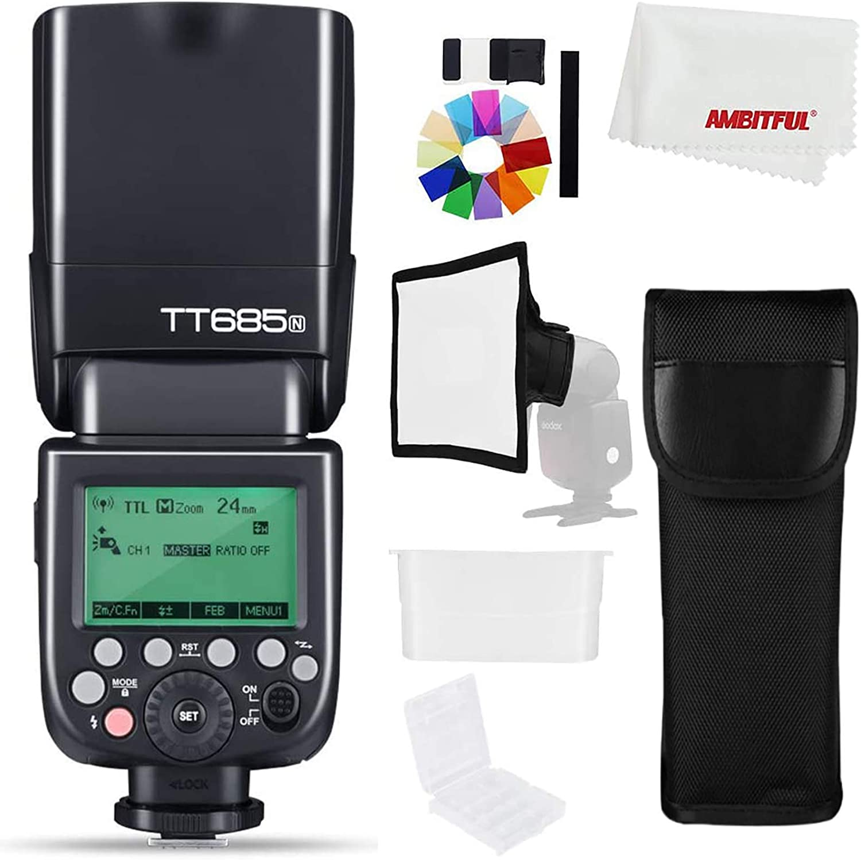 Godox Tt685n Camera Strobe Flash Light 2 4g Hss 1 Kamera