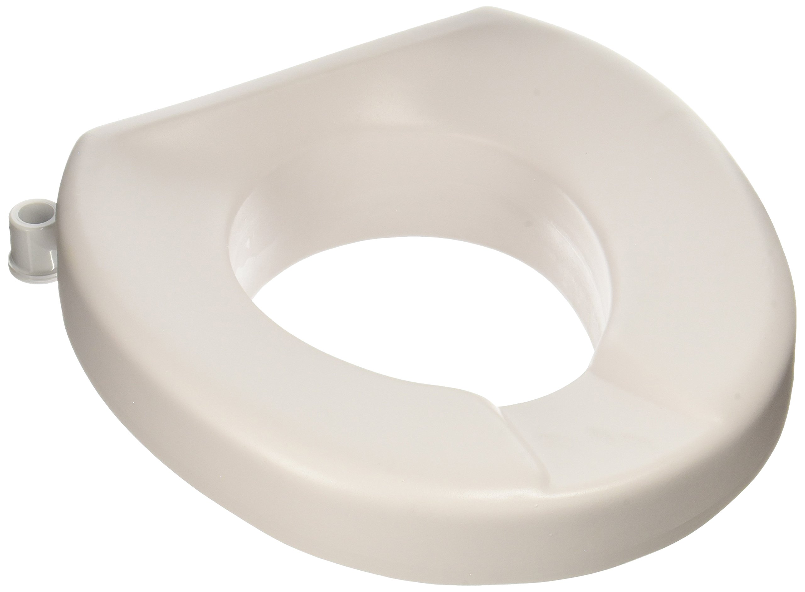 Maddak Tall-Ette 2-Inch Elevated Toilet Seat Compatible with Elongated and Standard Toilets (725831002) by SP Ableware