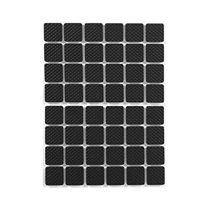 Rubber Feet Pads Adhesive Buffer Pads Door Bumpers Self Stick Noise Dampening Pads for Doors Cabinets Drawers