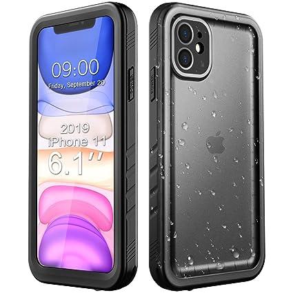 Amazon.com: Funda impermeable para iPhone 11, Negro: Electronics