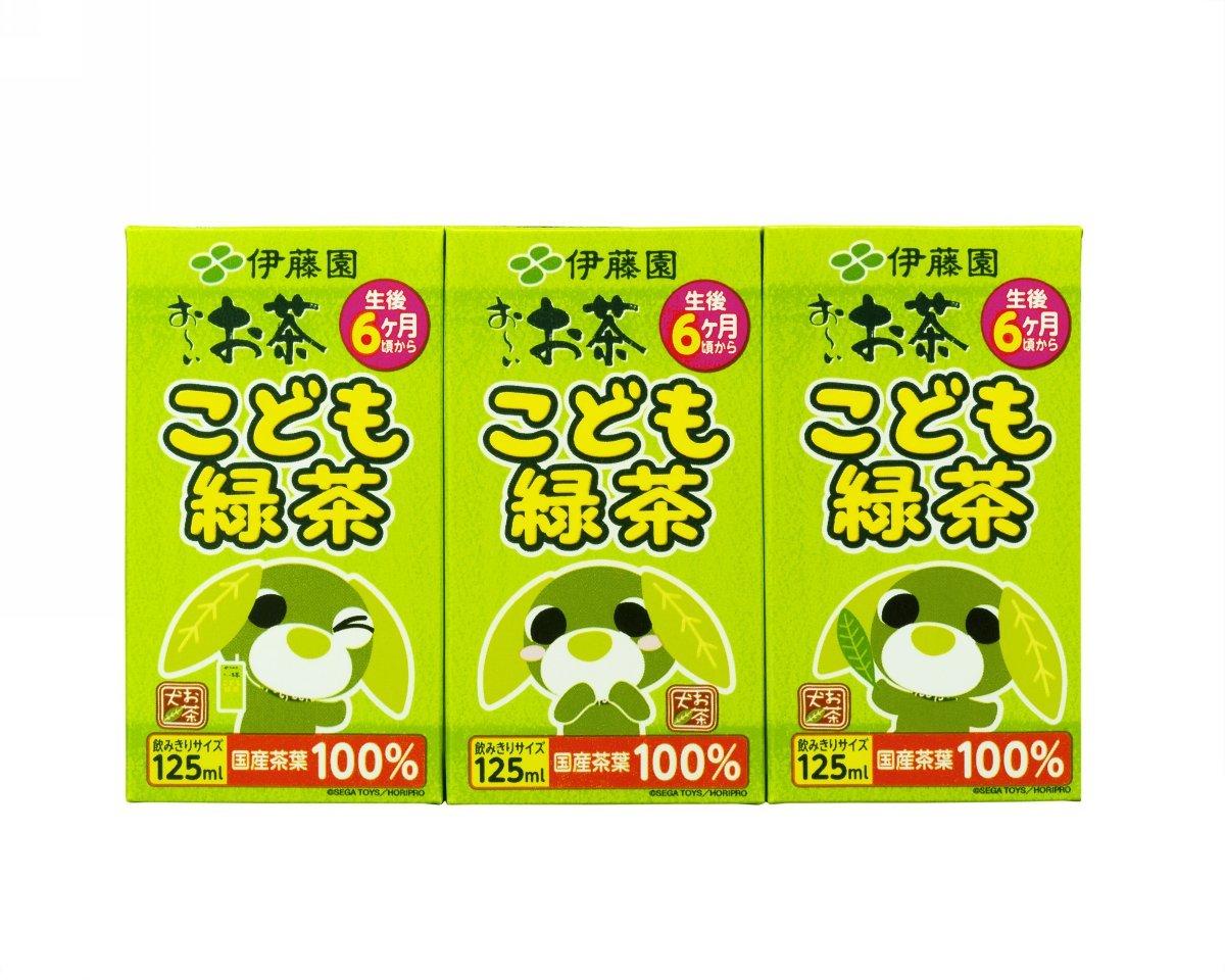 ITO EN children green tea (paper pack) (125ml ~ 3 pcs) 12 ~