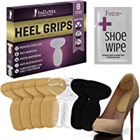 Heel Grips Shoes Too Big Gel Shoe Inserts Liners Pads - Add Extra Volume and Antislip