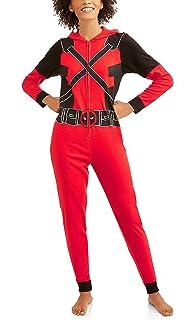 d1fa8c9d0e3 Marvel Women s Deadpool Romper at Amazon Women s Clothing store