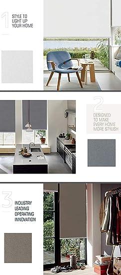 Amazon.com: Keego - Estor opaco para ventana de baño, hecho ...