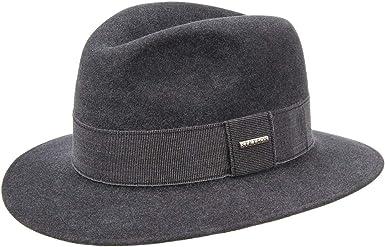 Stetson Sombrero de Fieltro Croydon Mujer/Hombre - Made in The EU ...