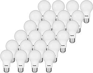Home Luminaire 31803 60 Watt Equivalent Soft White Non-Dimmable A19 24 Pack LED Light Bulb