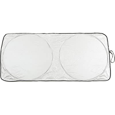 Sumex Silver Sun Parasol Delantero Plegable, L