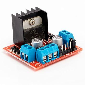 Neuftech L298n Double Pont H Dc Driver Controller Motor Pas A Pas Module Pour Arduino
