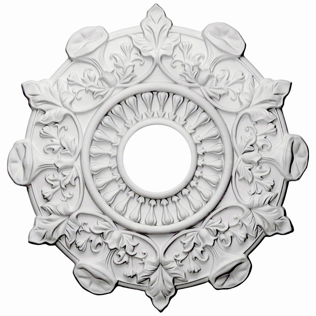 Ekena Millwork CM17PR 17 1/2-Inch OD x 3 1/2-Inch ID x 1-Inch Preston Ceiling Medallion