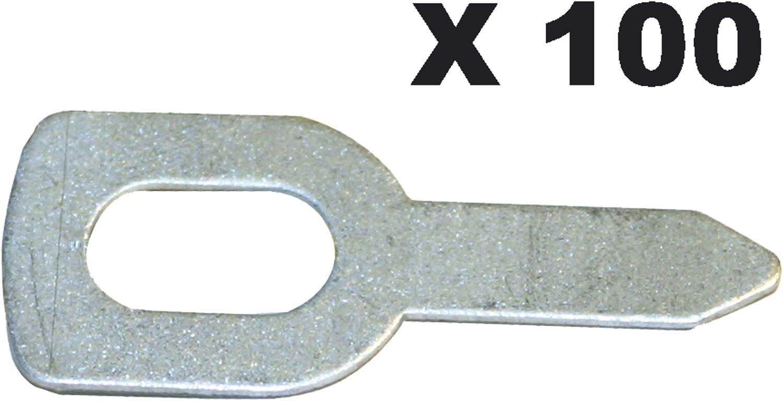 1/unidades GYS recto ansc hwei /ß/öse/ 050648 /100/Unidades