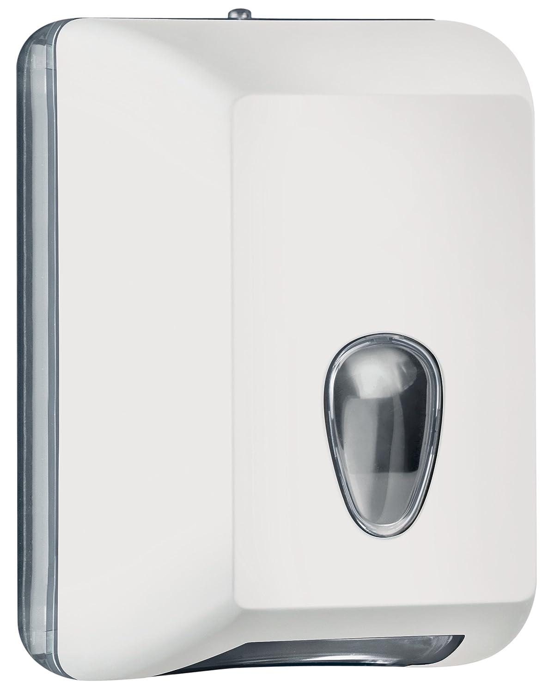 Dispenser Distributore Porta Carta Igienica A muro per Foglietti Intercalati Colorato Colored Soft Touch ARANCIO