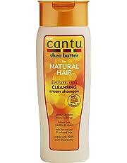 Cantu – Feuchtigkeitsspendendes Shampoo mit Sheabutter – Sulfatfreies Shampoo für Locken und strukturiertes Haar – 1er Pack (1 x 400ml)