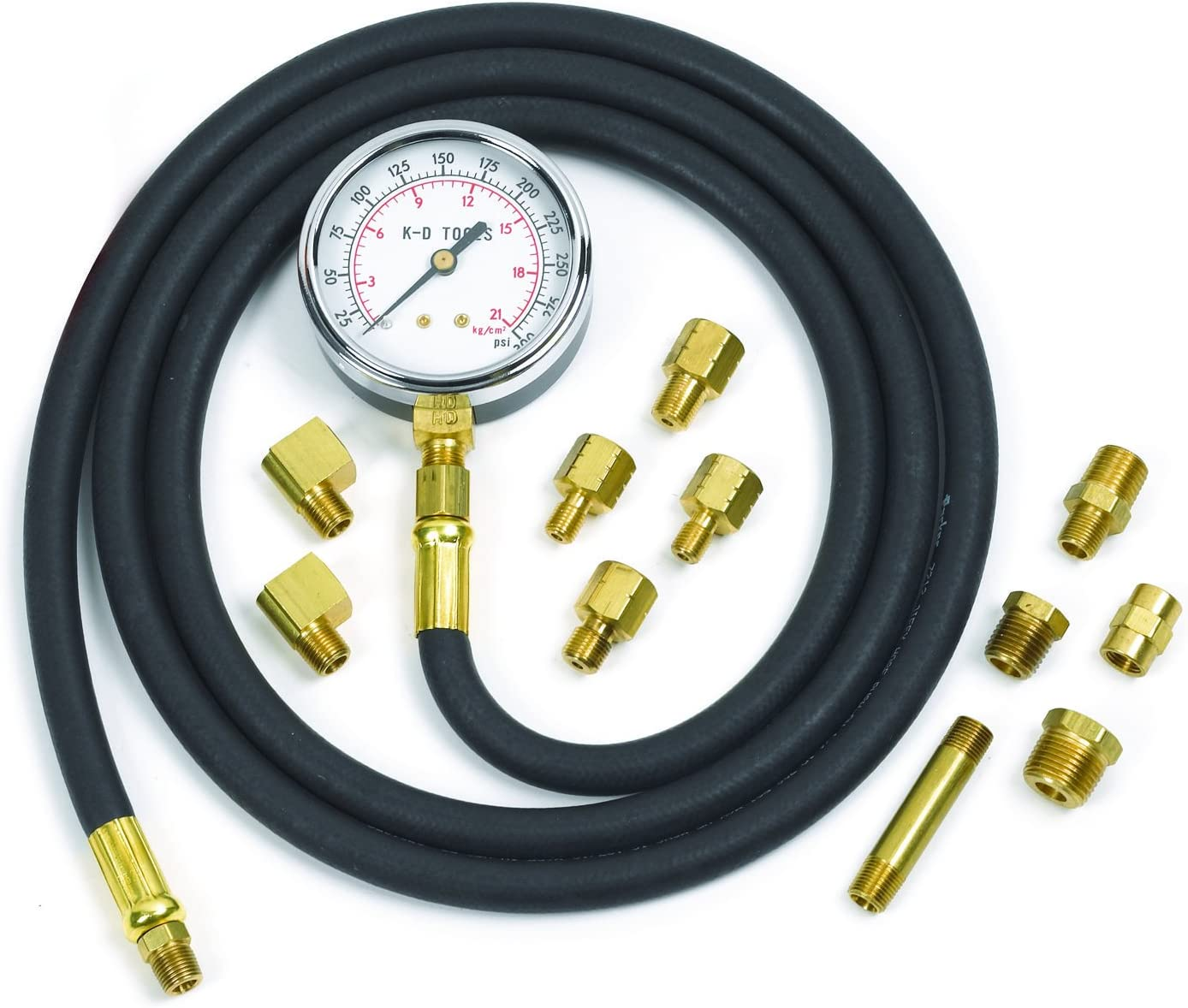 12 Pcs Automatica Transmision Probador De Presion Del Motor Kit De Diagnostico