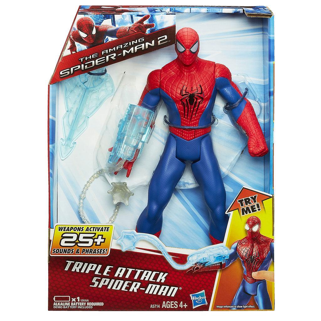 New Spider Man 2 Toys : Amazon marvel amazing spider man triple attack
