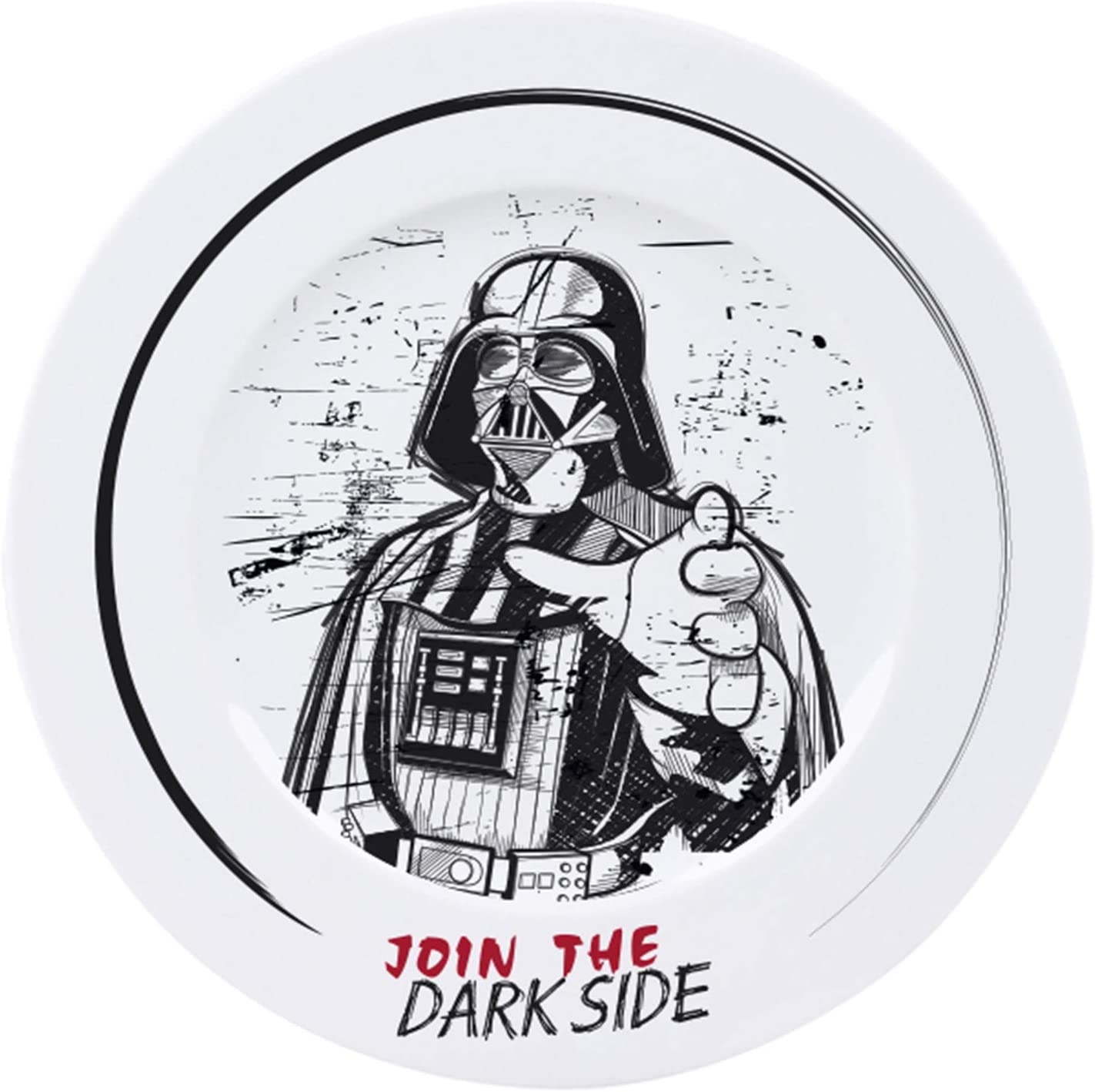 Star Wars Join The Dark Side 4 Piece Dinner Plate Set