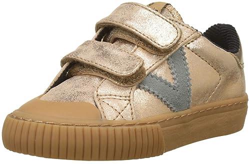 Victoria Deportivo Velcro Metalizado, Zapatillas Unisex para Niños: Amazon.es: Zapatos y complementos