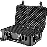 Loaded Gear HD-500 Hard Case, Black, Large by BARSKA