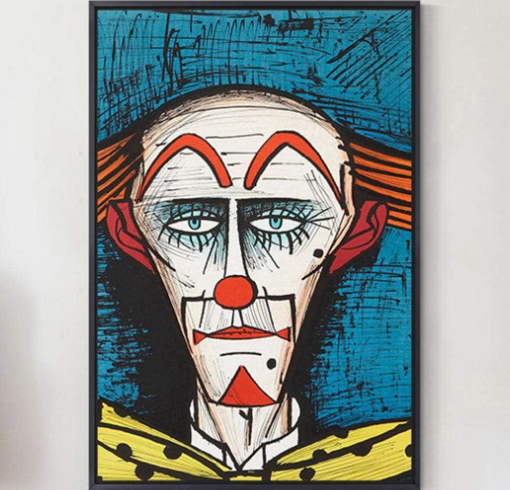 Viejo payaso personaje pintura de paisaje DIY pintura al óleo digital regalo único para decoración del hogar Artwork40 * 50 cm