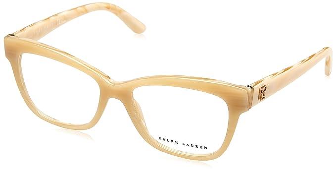 Ralph Lauren 0Rl6164, Monturas de Gafas para Mujer, Cream Horn, 51