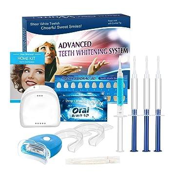 Kit de Blanqueamiento de Dientes, iFanze Blanqueador Dental Profesional, dientes blancos, dientes blancos