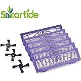 Smartide haute performance filtre de remplacement pour tous les Neato Botvac Série et Neato Botvac Série D 70e, 70,75,85, 85E 75E 8085D75D85D80D70D3D5(6filtres + 3brosses)