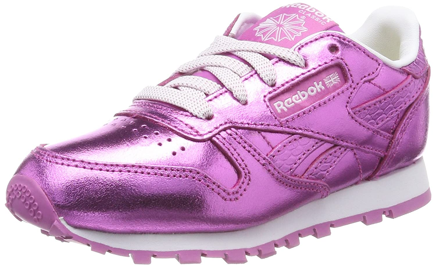 Reebok Classic Leather Metallic, Zapatillas de Running para Niñas