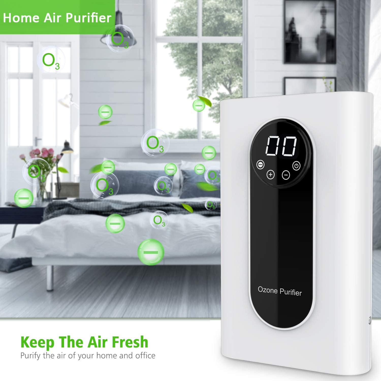 Air Ionizers WSTA Portable Ozone Generator,1000mg/h Multipurpose ...
