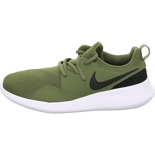Stylische Schuhe Nike Sneaker Textil dunkelgrün Damen