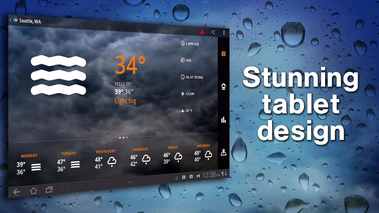 amazon com  1weather  appstore for android