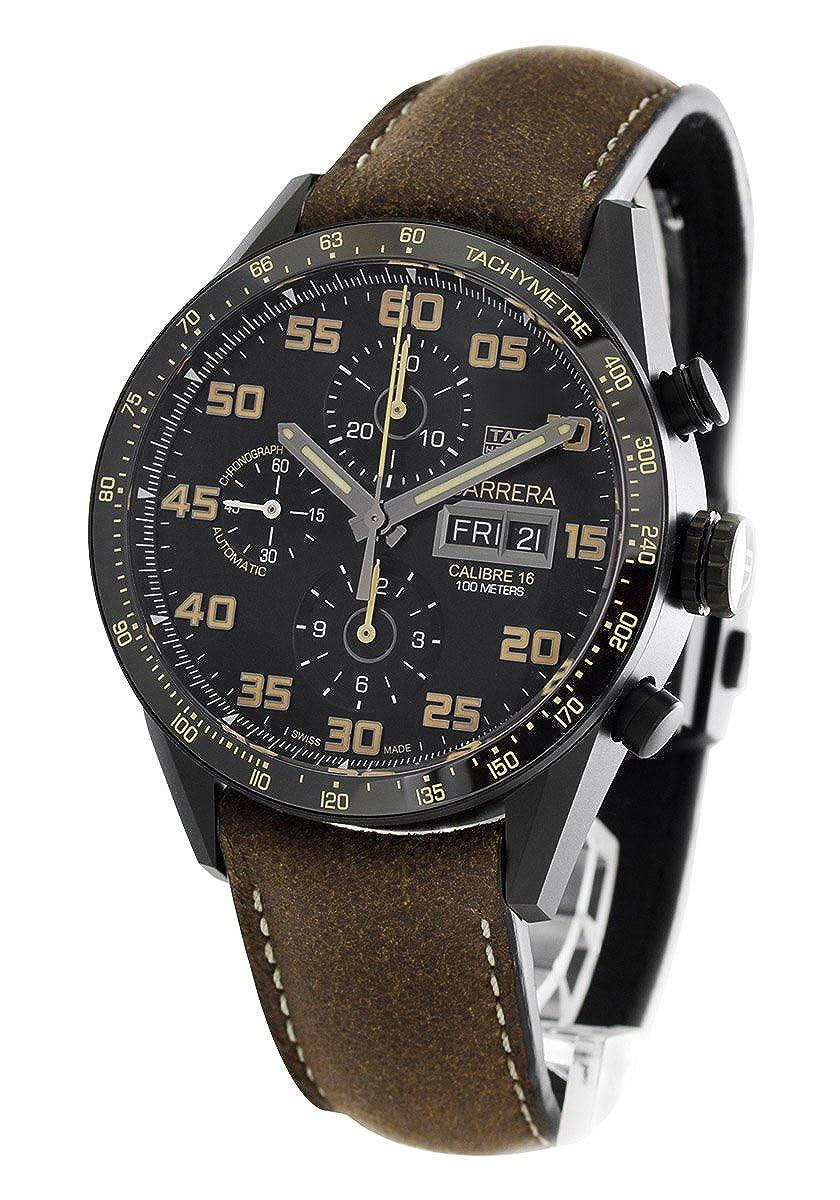 タグホイヤー カレラ クロノグラフ 腕時計 メンズ TAG Heuer CV2A84.FC6394[並行輸入品] B0741RRHW1
