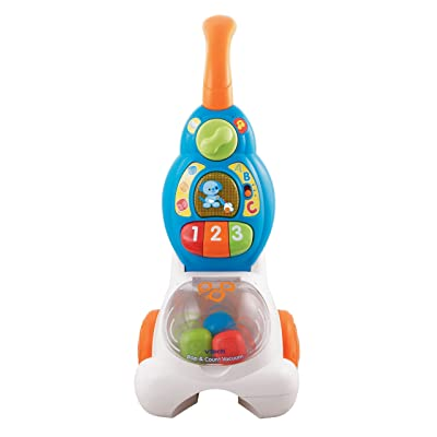 VTech Pop and Count Vacuum: Toys & Games