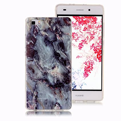 Amazon.com: Marble Case for Huawei Y6 2017, Huawei Y5 2017 ...